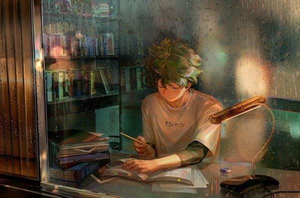 Tags: Anime, Taro-k, Boku no Hero Academia, Midoriya Izuku, Fanart, Fanart From DeviantART, deviantART