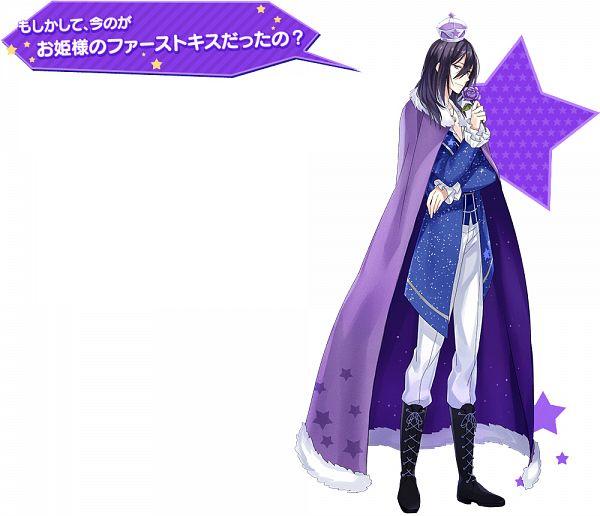 Tags: Anime, Yuzuki Karu, Otomate, PsychicEmotion6, Midou Subaru, Mini Crown, PNG Conversion, Official Art
