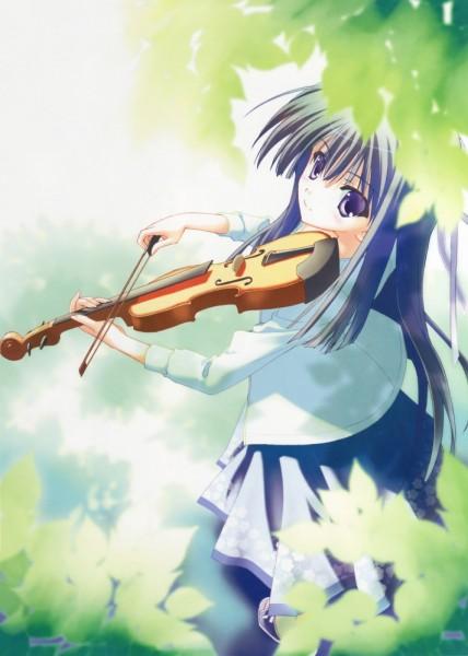 Tags: Anime, Suzuhira Hiro, Yosuga no Sora, Migiwa Kazuha, Mobile Wallpaper
