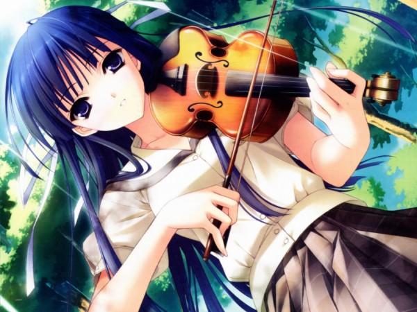 Tags: Anime, Suzuhira Hiro, Yosuga no Sora, Migiwa Kazuha, CG Art, Official Art