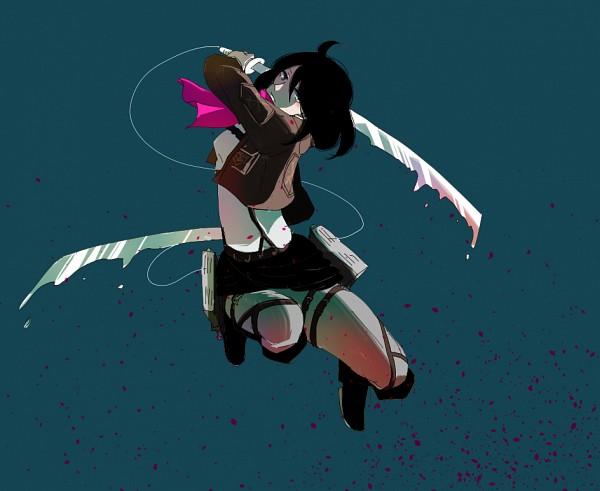 Tags: Anime, Pixiv Id 4100241, Attack on Titan, Mikasa Ackerman, Pixiv