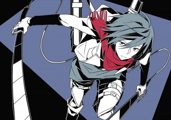 Tags: Anime, Pixiv Id 659074, Shingeki no Kyojin, Mikasa Ackerman, Pixiv