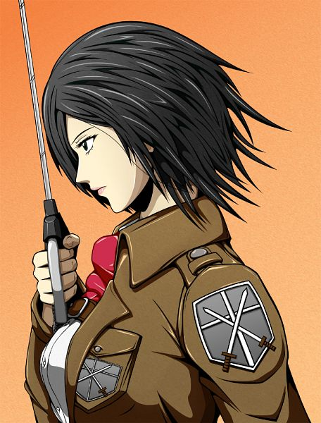 Tags: Anime, Asaruton, Attack on Titan, Mikasa Ackerman, Fanart