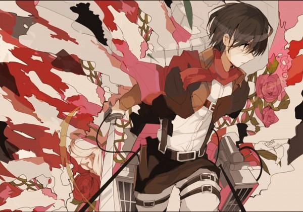Tags: Anime, Pixiv Id 5086155, Attack on Titan, Mikasa Ackerman, Pixiv