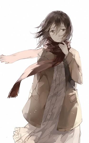 Tags: Anime, Nine (Pixiv3875056), Attack on Titan, Mikasa Ackerman, Pixiv, Mobile Wallpaper