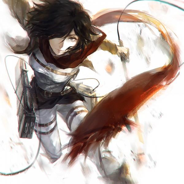 Tags: Anime, W3, Attack on Titan, Mikasa Ackerman, Pixiv, Fanart, Fanart From Pixiv