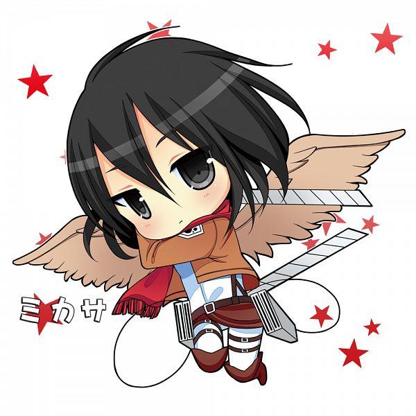 Tags: Anime, Narumiya Koneko, Attack on Titan, Mikasa Ackerman