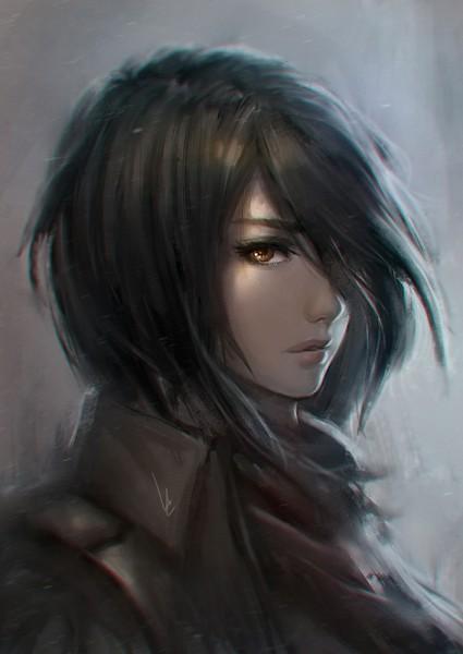 Tags: Anime, chaosringen, Attack on Titan, Mikasa Ackerman, Fanart, Mobile Wallpaper, Fanart From DeviantART, Fanart From Pixiv, Revision, deviantART, Pixiv
