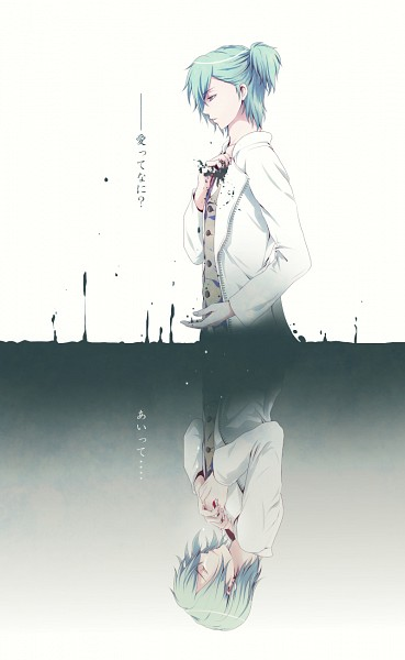 Tags: Anime, Pixiv Id 5083121, Uta no☆prince-sama♪, Mikaze Ai, Different Reflection, Mobile Wallpaper, Pixiv