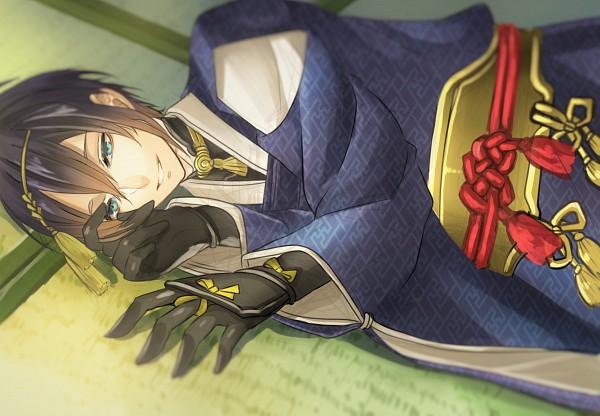 Tags: Anime, Kanzaki Shion, Touken Ranbu, Mikazuki Munechika, Fanart From Pixiv, Pixiv, Fanart
