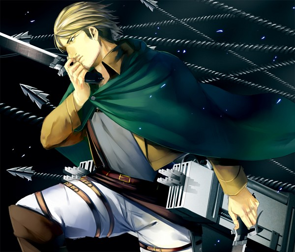 Tags: Anime, Pixiv Id 1372218, Attack on Titan, Mike Zacarius, Pixiv, Fanart, Fanart From Pixiv
