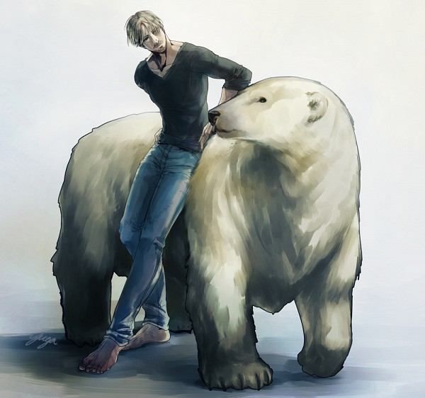 Tags: Anime, Pixiv Id 533596, Attack on Titan, Mike Zacarius, Polar Bear, PNG Conversion, Pixiv, Fanart, Fanart From Pixiv