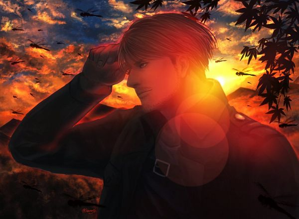 Tags: Anime, Pixiv Id 16523866, Attack on Titan, Mike Zacarius, Dragonfly, Pixiv, Fanart, Fanart From Pixiv