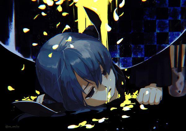 Tags: Anime, Pixiv Id 33415745, Mahou Shoujo Madoka☆Magica, Miki Sayaka, Twitter