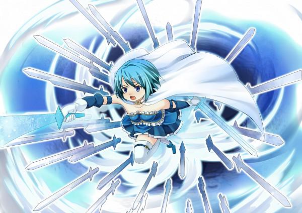 Tags: Anime, Blue Door, Mahou Shoujo Madoka☆Magica, Miki Sayaka
