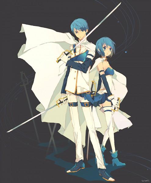 Tags: Anime, Damil, Mahou Shoujo Madoka☆Magica, Miki Sayaka, Fanart