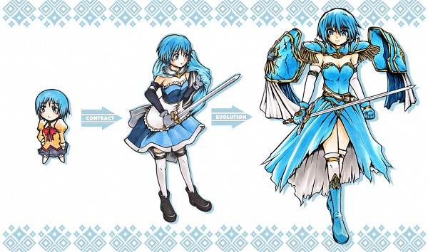 Tags: Anime, Uniwhale, Mahou Shoujo Madoka☆Magica, Miki Sayaka
