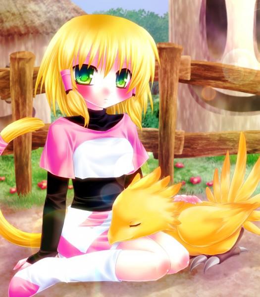 Tags: Anime, Final Fantasy IX, Mikoto (Final Fantasy IX), Chocobo