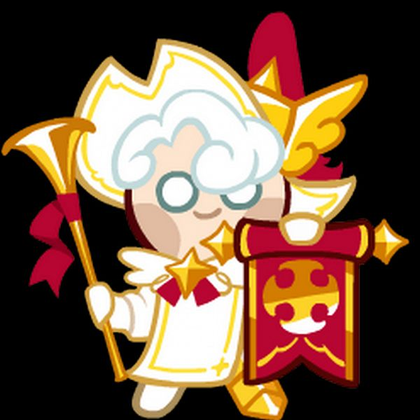 Tags: Anime, Devsisters, Cookie Run: OvenBreak, Cookie Run, Milk Cookie (Herald Of Victory), Milk Cookie, Upscale, Official Art