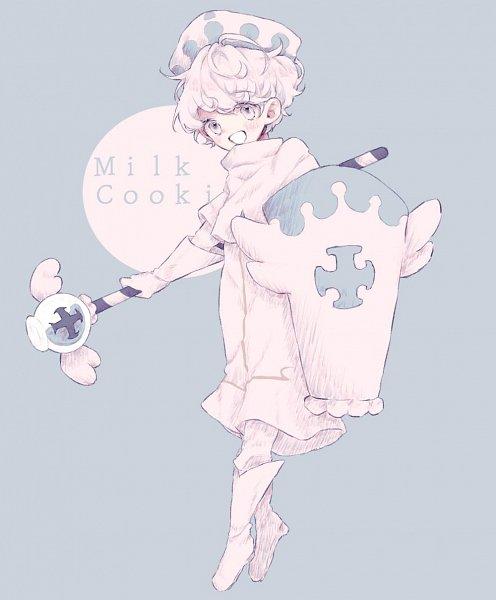 Tags: Anime, Pixiv Id 18946051, Cookie Run: OvenBreak, Cookie Run, Milk Cookie, Fanart From Pixiv, Pixiv, Fanart