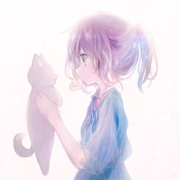 Tags: Anime, Milkuro, Pixiv, Original