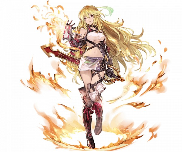 Tags: Anime, Minaba Hideo, Cygames, Tales of Xillia, Granblue Fantasy, Milla Maxwell, Official Art, Cover Image