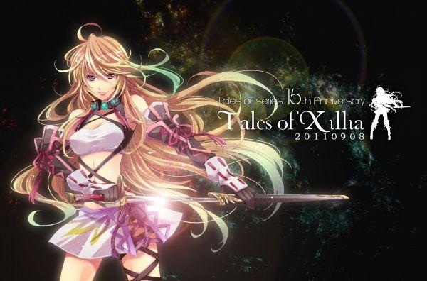 Tags: Anime, Pixiv Id 304273, Tales of Xillia, Milla Maxwell, Wallpaper