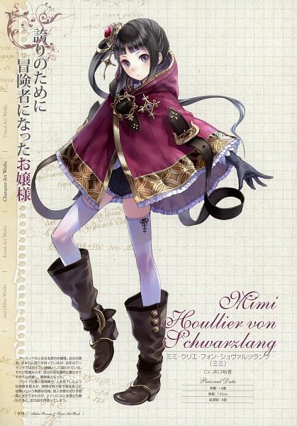 Tags: Anime, Kishida Mel, Atelier Rorona and Totori Art Book, Alchemist of Arland, Mimi Houllier Von Schwarzlang, Mobile Wallpaper, Pixiv