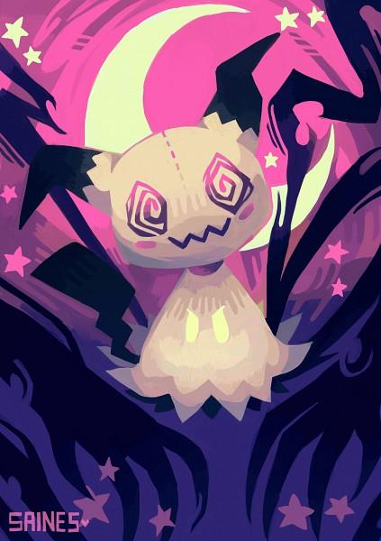 Tags: Anime, Saines, Pokémon, Mimikyu, Fanart, Tumblr, PNG Conversion, Mobile Wallpaper
