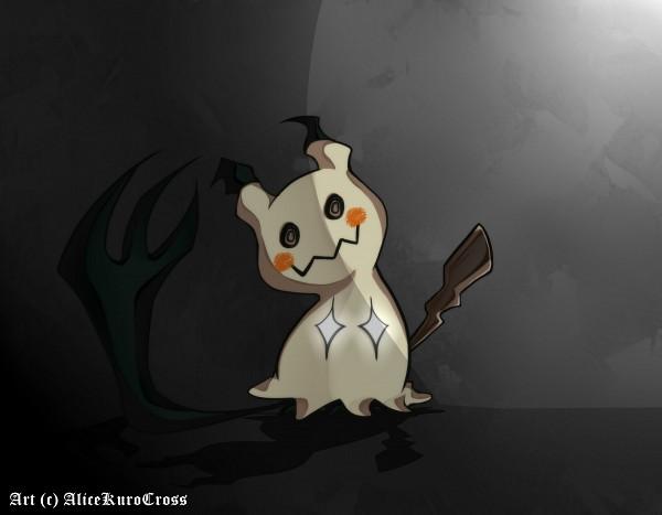 Tags: Anime, AliceKuroCross, Pokémon, Mimikyu, Self Made