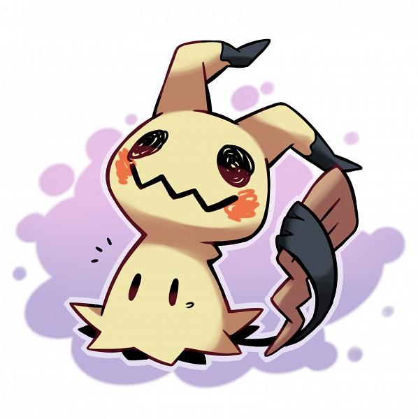 Tags: Anime, Pixiv Id 1077851, Pokémon, Mimikyu, Fanart, Fanart From Pixiv, PNG Conversion, Pixiv