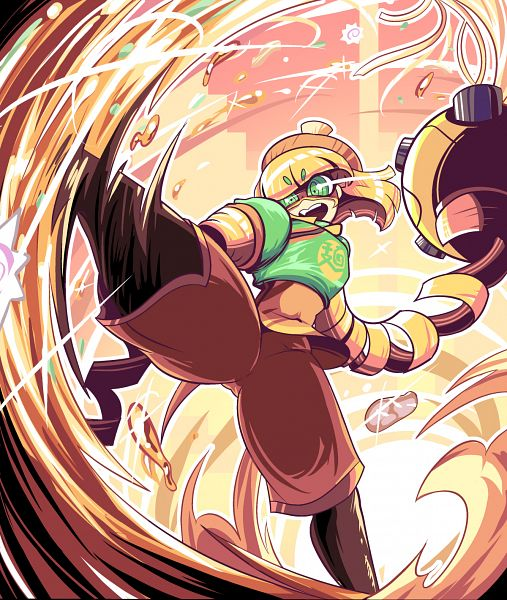 Tags: Anime, BerryVerrine, ARMS (Game), Min Min (ARMS), PNG Conversion