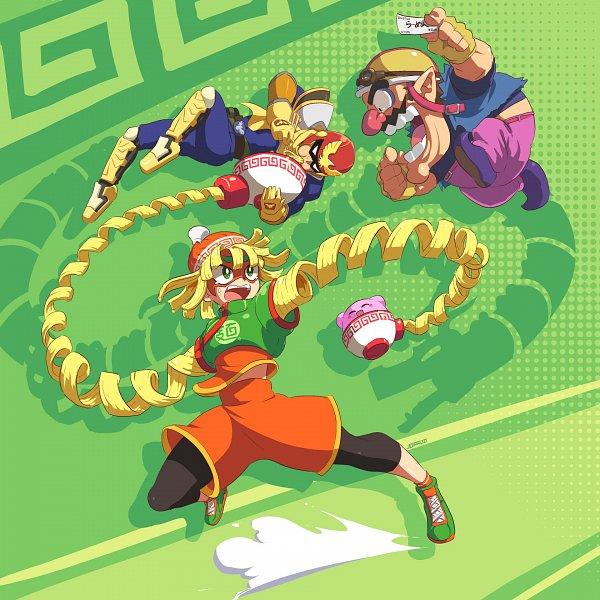 Tags: Anime, The John Su, Super Smash Bros., ARMS (Game), Warioware, F-zero, Kirby Series, Captain Falcon, Wario, Kirby, Min Min (ARMS), Ramen