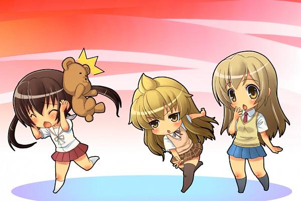 Tags: Anime, Rokko, Minami-ke, Minami Kana, Minami Haruka, Minami Chiaki