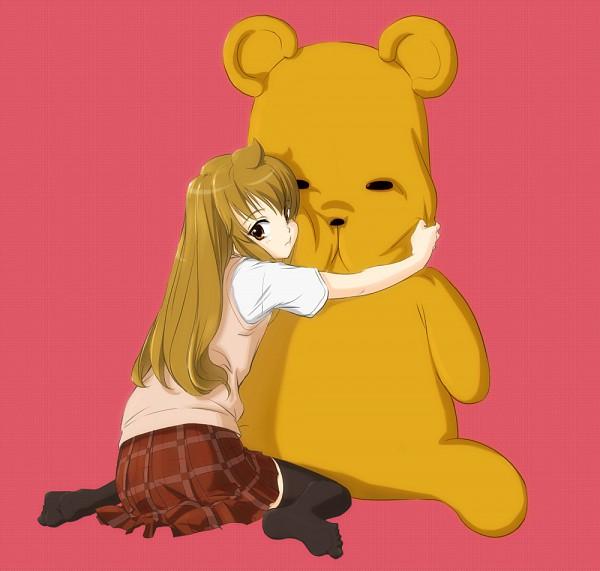 Tags: Anime, Kuuyuu, Minami-ke, Minami Chiaki, Hugging Toy, Fujioka-kuma