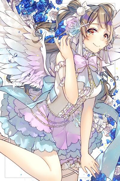 Tags: Anime, Pixiv Id 2743753, Love Live!, Minami Kotori, Fanart From Pixiv, Mobile Wallpaper, Pixiv, Fanart