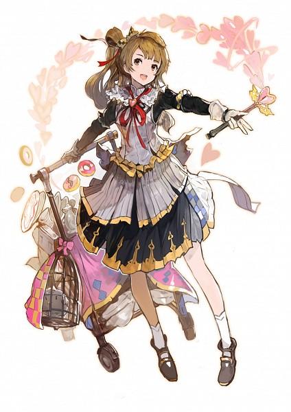 Tags: Anime, Alchemaniac, Love Live!, Minami Kotori, Granblue Fantasy (Parody), Mobile Wallpaper, Pixiv, Fanart, Fanart From Pixiv, Kotori Minami