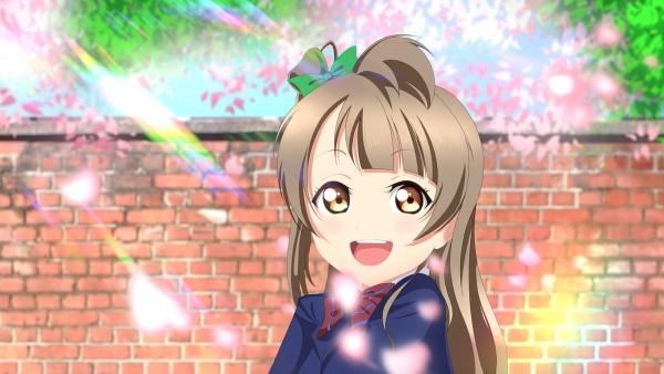Tags: Anime, Pixiv Id 13543481, Love Live!, Minami Kotori, Американец, Brick Wall, Pixiv, Fanart From Pixiv, Wallpaper, Fanart, HD Wallpaper, Kotori Minami