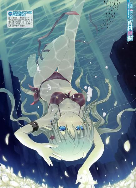 Tags: Anime, Minamura Haruki, Dengeki Moeoh 2010-10, Scan, Pixiv, Dengeki Moeoh