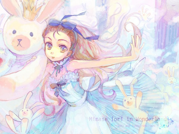 Tags: Anime, Ame Yamori, Alice in Wonderland, THE iDOLM@STER, White Rabbit, Alice (Alice in Wonderland), Minase Iori