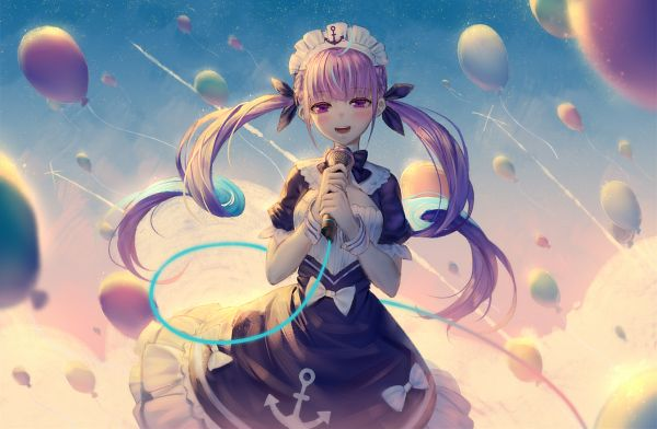 Tags: Anime, Pixiv Id 5245628, Aqua Ch., Minato Aqua