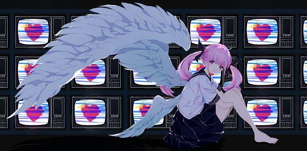 Tags: Anime, Pixiv Id 8397454, Hololive, Aqua Ch., Minato Aqua