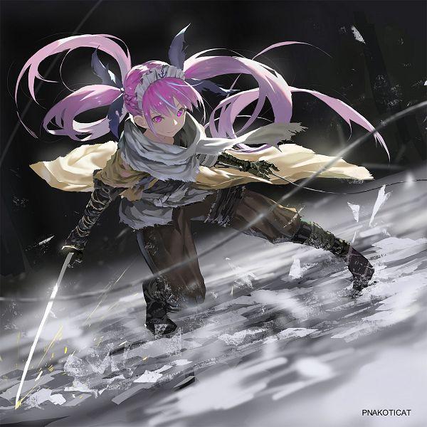 Tags: Anime, Pixiv Id 39299421, Hololive, Aqua Ch., Minato Aqua, Sekiro (Cosplay), Sekiro: Shadows Die Twice (Parody), Fanart From Pixiv, Pixiv, Fanart