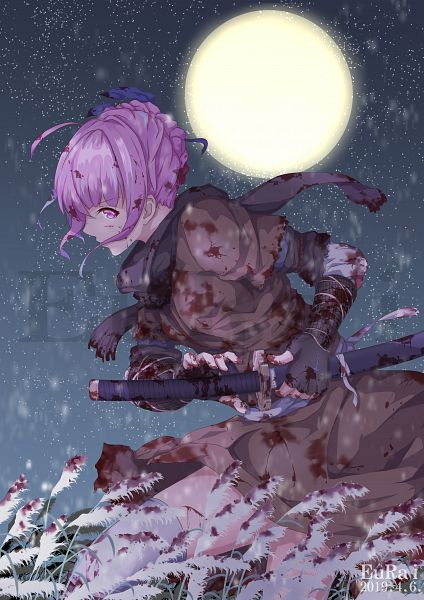 Tags: Anime, Pixiv Id 21677542, Hololive, Aqua Ch., Minato Aqua, Sekiro: Shadows Die Twice (Parody)
