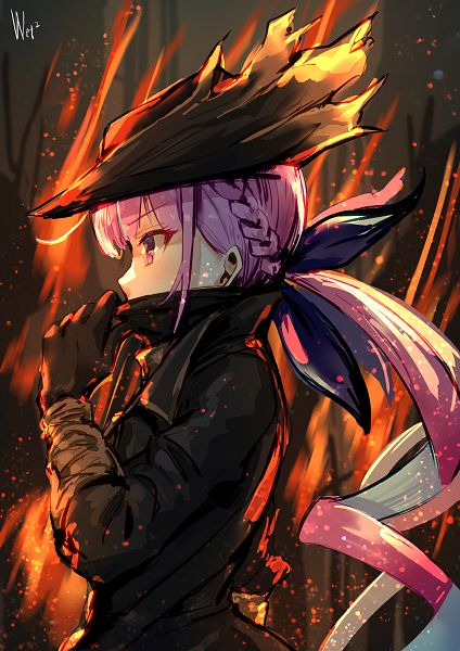 Tags: Anime, Pixiv Id 4307678, Hololive, Aqua Ch., Minato Aqua, Bloodborne (Parody)