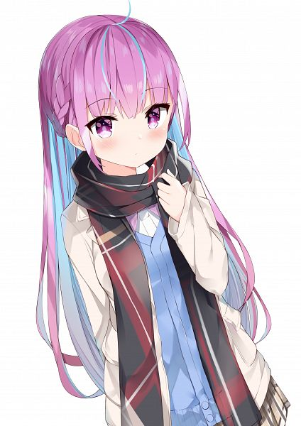 Tags: Anime, Pixiv Id 14068082, Hololive, Aqua Ch., Minato Aqua