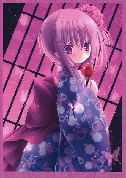 Tags: Anime, Tinkerbell, Ro-kyu-bu!, Vernal Flowers, Minato Tomoka, Official Art, Mobile Wallpaper, Scan