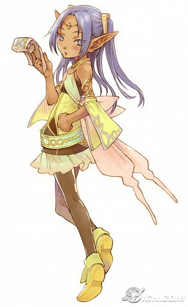Tags: Anime, Rune Factory Frontier, Minerva, Map, Scan, Official Art