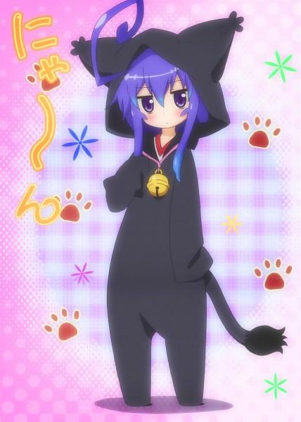 Tags: Anime, Anime International Company, Acchi Kocchi, Miniwa Tsumiki, Kigurumi, Screenshot, Stitched Screenshot, Mobile Wallpaper