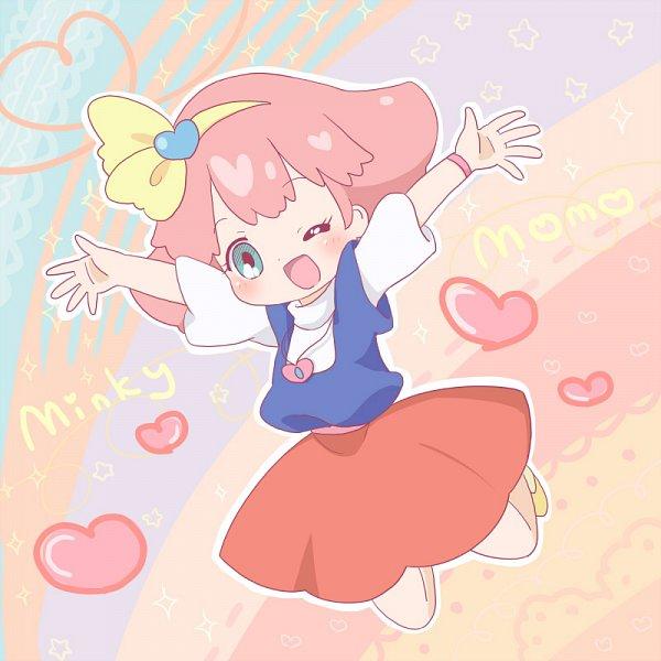 Tags: Anime, Sakuramori Sumomo, Mahou no Princess Minky Momo, Minky Momo, Fanart, deviantART, Fanart From DeviantART, Pixiv, Fanart From Pixiv